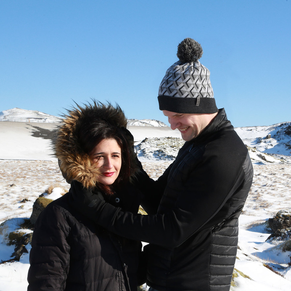 Brúðkaup -  Andri og Marta