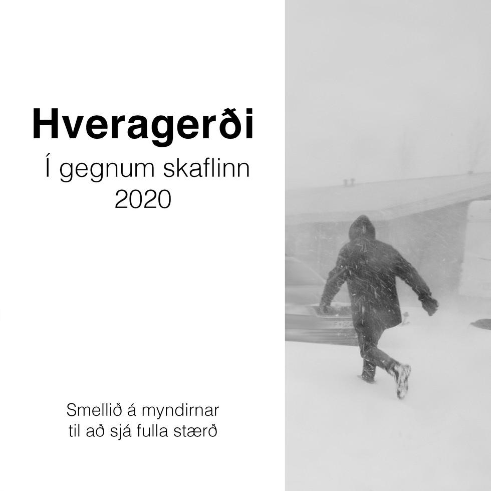 SMELLIÐ Á MYNDINA - Hveragerði  apríl 2020