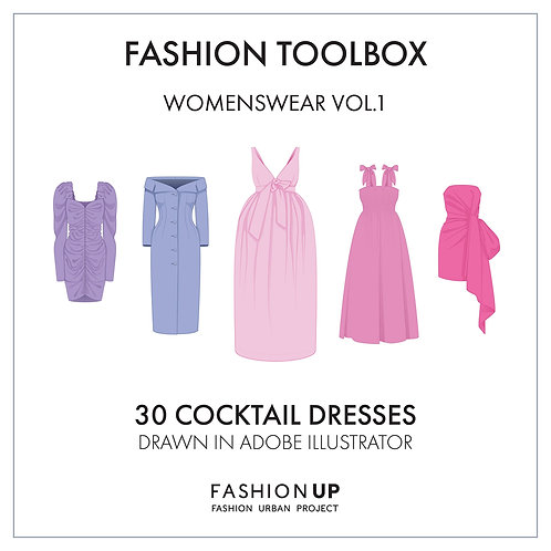 30 Types of Cocktail Dresses - Fashion Toolbox Womenswear Vol.1