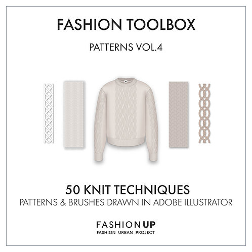 50 Types of Knit Techniques - Fashion Toolbox Patterns Vol.4