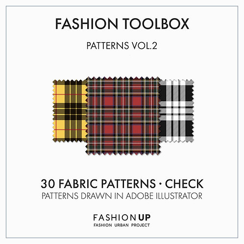 30 Types of Fabric Patterns - Check - Fashion Toolbox Patterns Vol.2