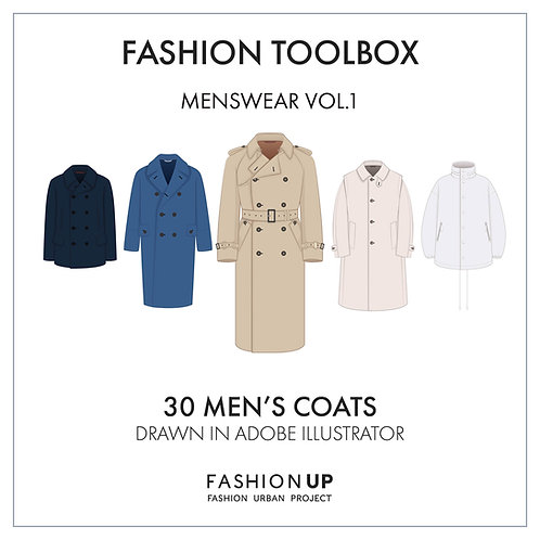 30 Types of Coats - Fashion Toolbox Menswear Vol.1