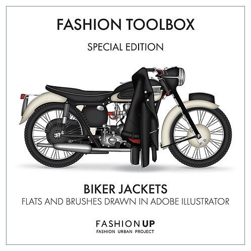 Leather Biker Jackets -  Fashion Toolbox Special Edition