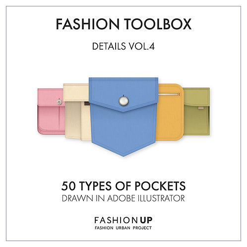 50 Types of Pockets - Fashion Toolbox Details Vol. 4