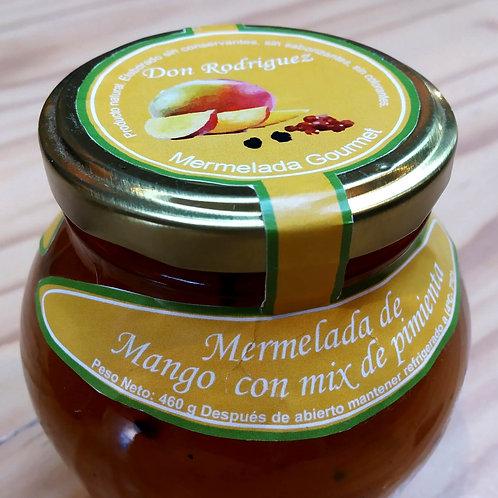 Mermelada de Mango y Mix de Pimientas