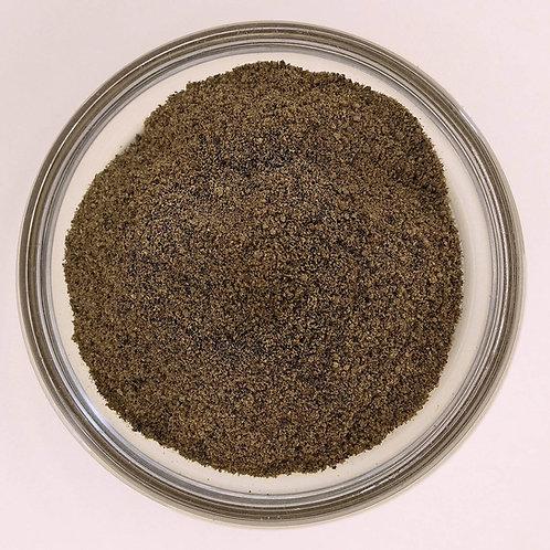 pimienta negra en polvo