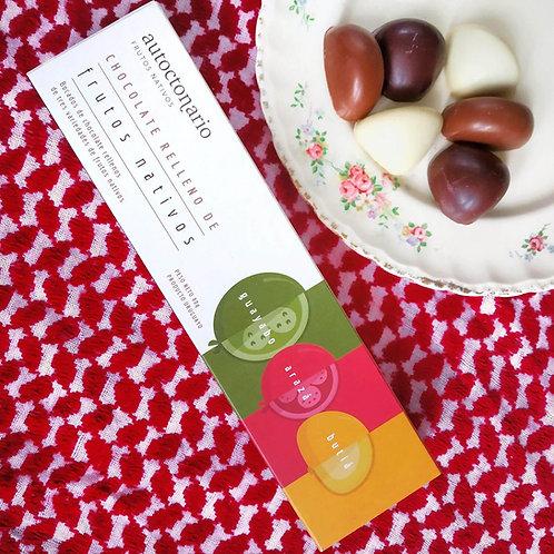 Chocolate relleno de frutos nativos - Autoctonario