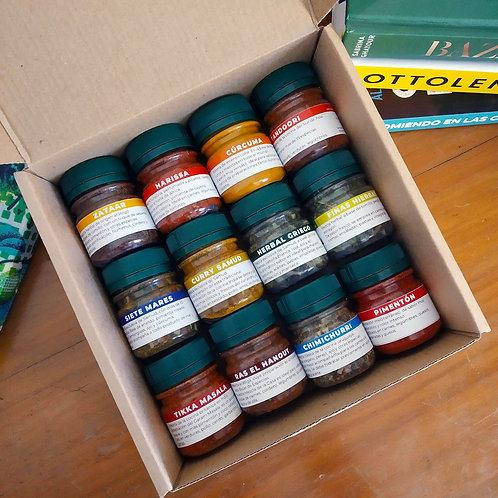 Pack 12 Especias Samud -