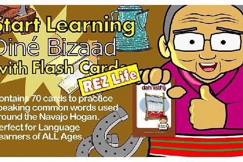 Navajo Language Flash Cards Rez Life