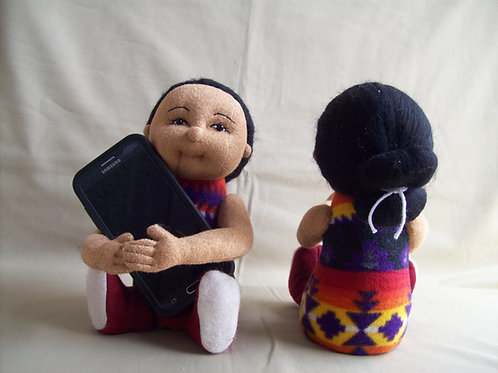Cell Phone Holder Dolls