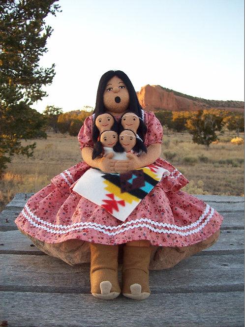 Apache Storyteller Doll