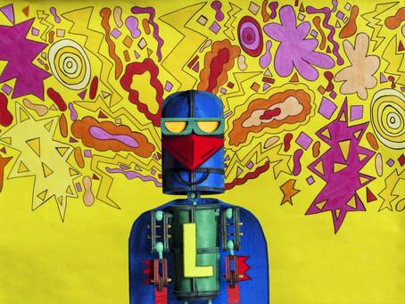 Tim Sharp's Laser Beak Man ft. Sam Cromack @ QPAC