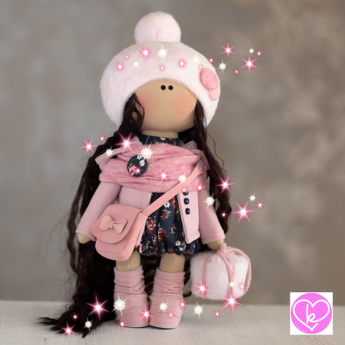 Beautiful Mabel - Ready to Go - Handmade Doll - 2020 Collection