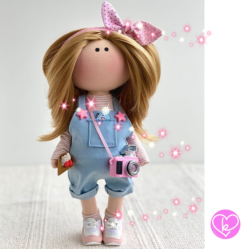 Lovely Matilda - Ready to Go Handmade Doll - 2020 Collection