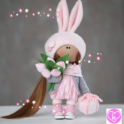 Beautiful Ellie - Ready to Go Handmade Doll - 2019 Collection