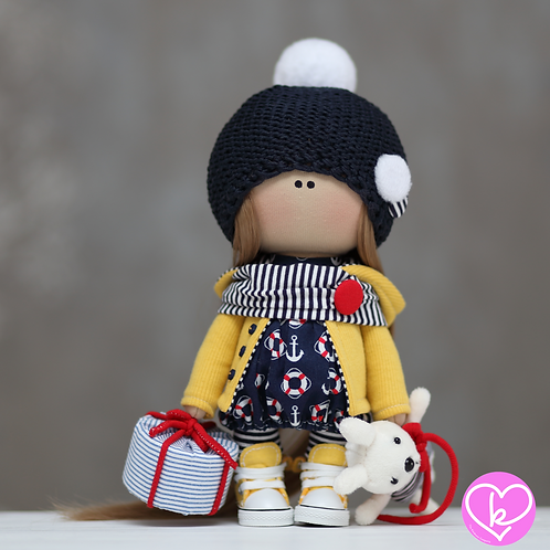Alice - Ready to Go - Handmade Doll - 2021 Collection