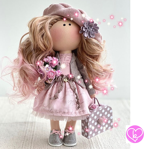 Beautiful Anai - Ready to Go Handmade Doll - 2020 Collection