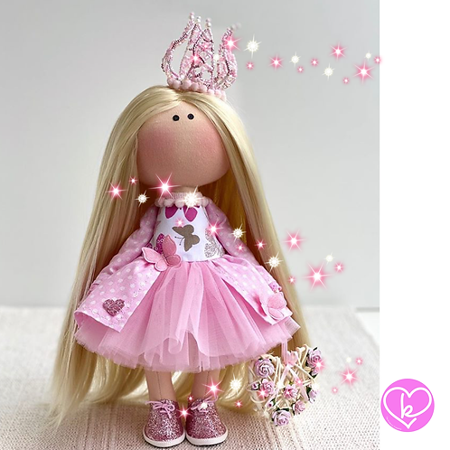 Beautiful Princess - Ready to Go Handmade Doll - 2020 Collection