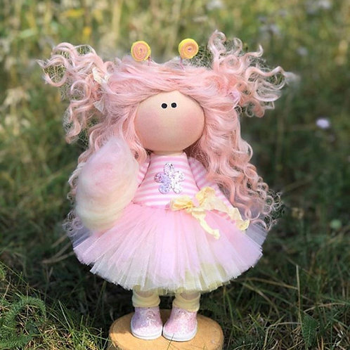Candy Floss Queen - Ready to Go Handmade Doll - 2019 Collection