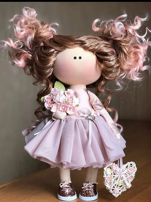 Pretty Renee - Ready to Go Handmade Doll - 2019 Collection