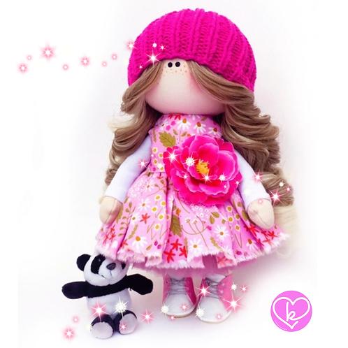 Beautiful  Clara - Made to Order - Handmade Doll