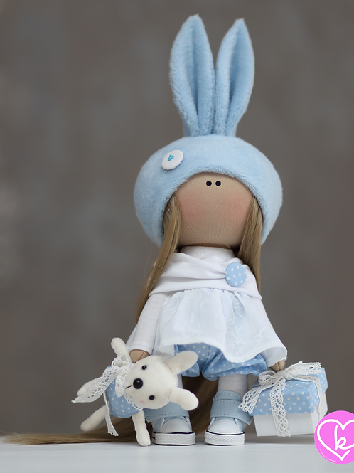 Molly - Ready to Go - Handmade Doll - 2021 Collection