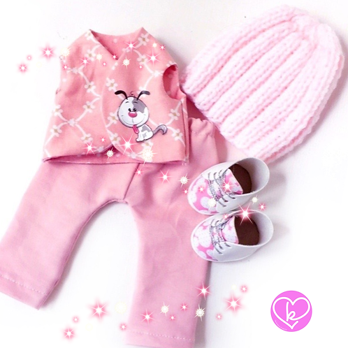 Walking your furry loved one - Made to Order - Extra Outfit Set