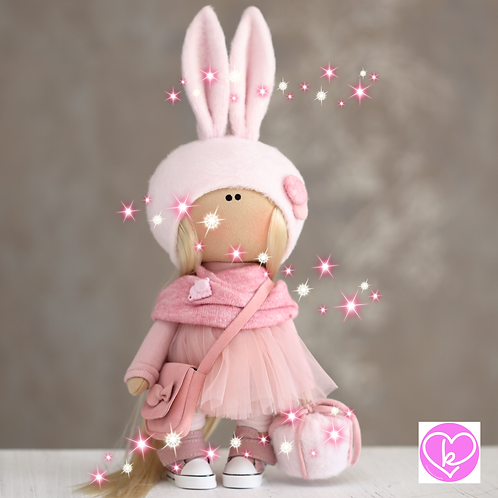 Beautiful Lilly - Ready to Go - Handmade Doll - 2020 Collection