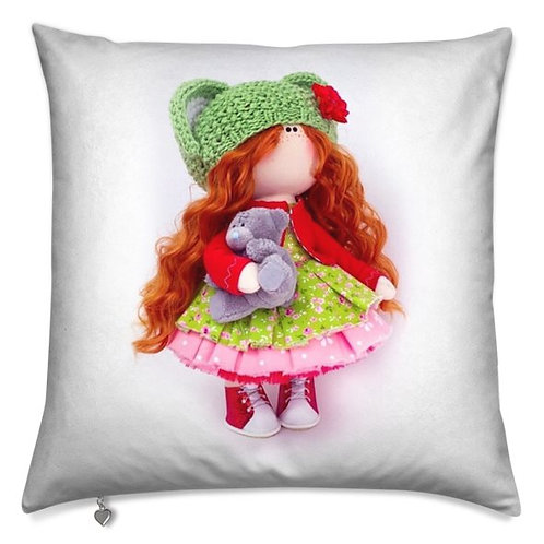 Little Miss Christmas -  Scatter Cushion