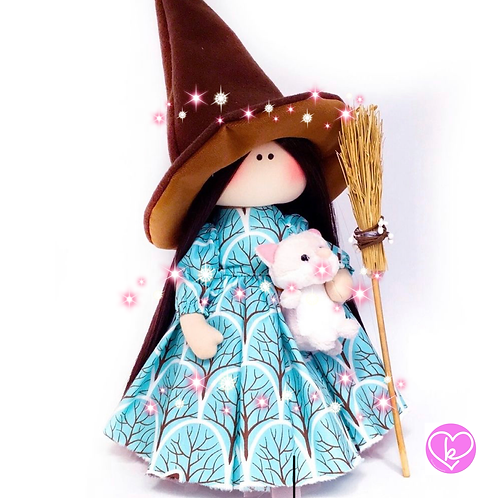 Limited Edition: Magical Good Witch Doll - Collectors Edition