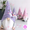 Thumbnail: Pippa - Purple - Ready to go - Handmade Gnome