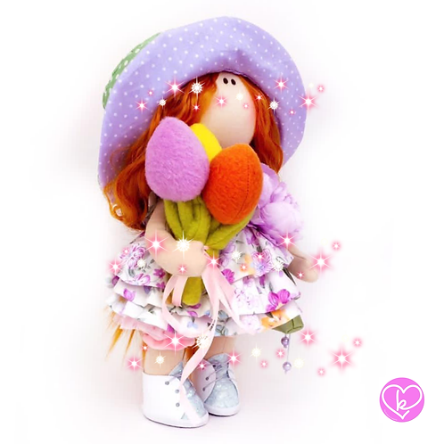Loralei - Ready to go - Limited Edition Handmade Doll