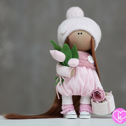 Aimie - Ready to Go - Handmade Doll - 2021 Collection