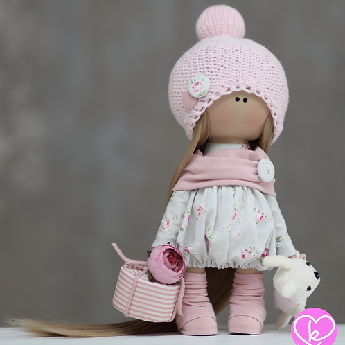 Hariet - Ready to Go - Handmade Doll - 2021 Collection