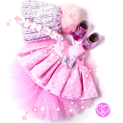 Pretty in pink - Made to Order - Extra Outfit Set
