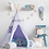 Thumbnail: Pretty Lavender Fields Teepee Set