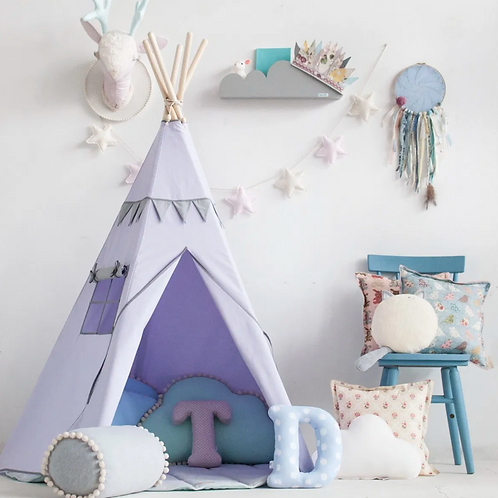 Pretty Lavender Fields Teepee Set