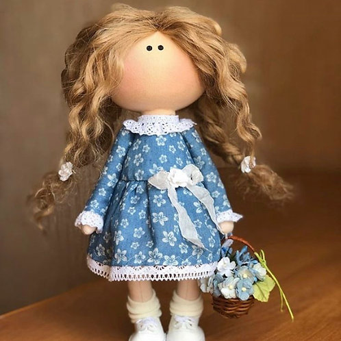 Beautiful Meghan - Ready to Go Handmade Doll - 2019 Collection