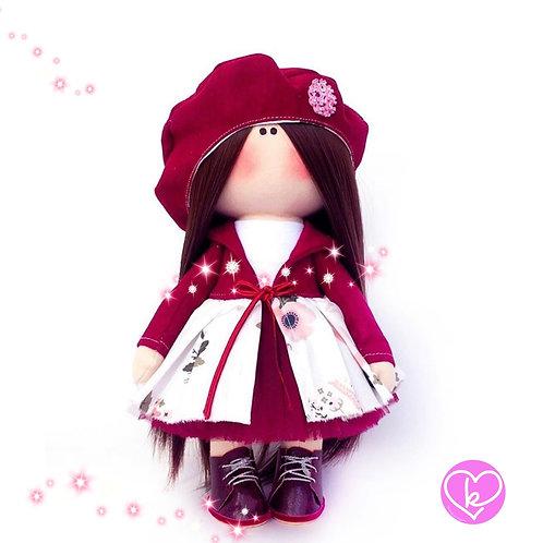 Beautiful Olivia - Made to Order - Handmade Doll