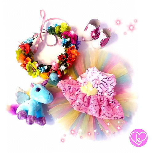 Beautiful Unicorn - Made to Order - Extra Outfit Set