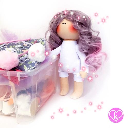 Beautiful Birthday Box - Limited Edition - Handmade Doll