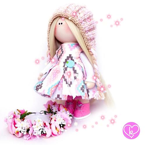 Pretty Pippa - Made to Order - Handmade Doll