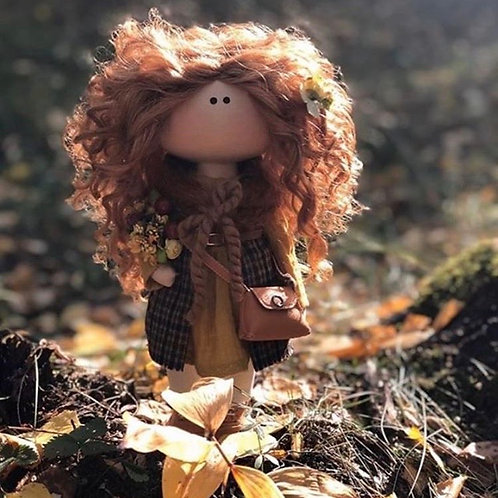 Pretty Penny - Ready to Go Handmade Doll - 2019 Collection