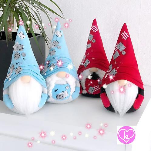 Betty - Blue - Ready to go - Handmade Gnome