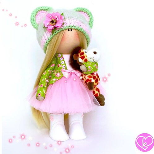Pretty Anna - Made to Order - Handmade Doll