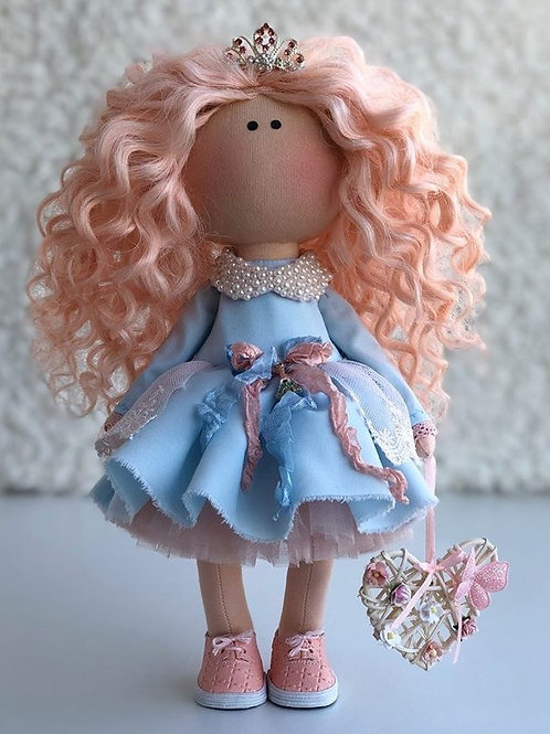 Princess Amelia - Ready to Go Handmade Doll - 2019 Collection