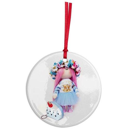 Peony - Round Shaped - Christmas Decoration