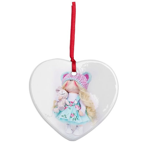 Maisey - Heart Shaped - Christmas Decoration