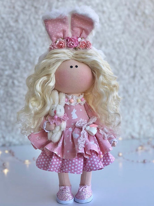 Pretty Pippa - Ready to Go Handmade Doll - 2019 Collection