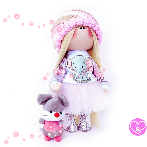 Little Poppet - Made to Order - Handmade Doll
